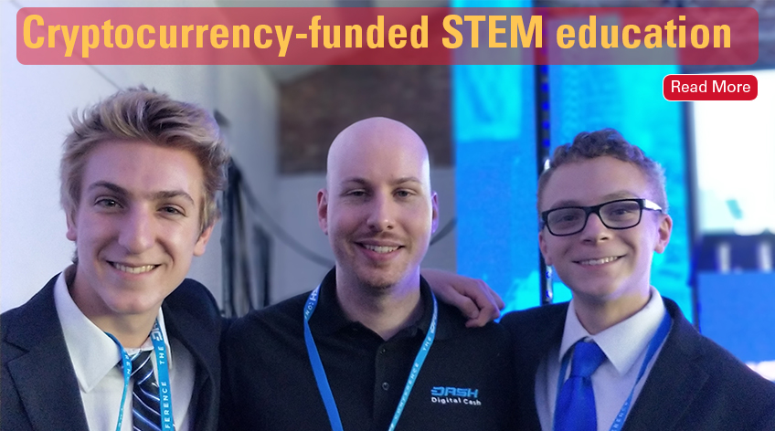 Cyrptocurrency-funded STEM education