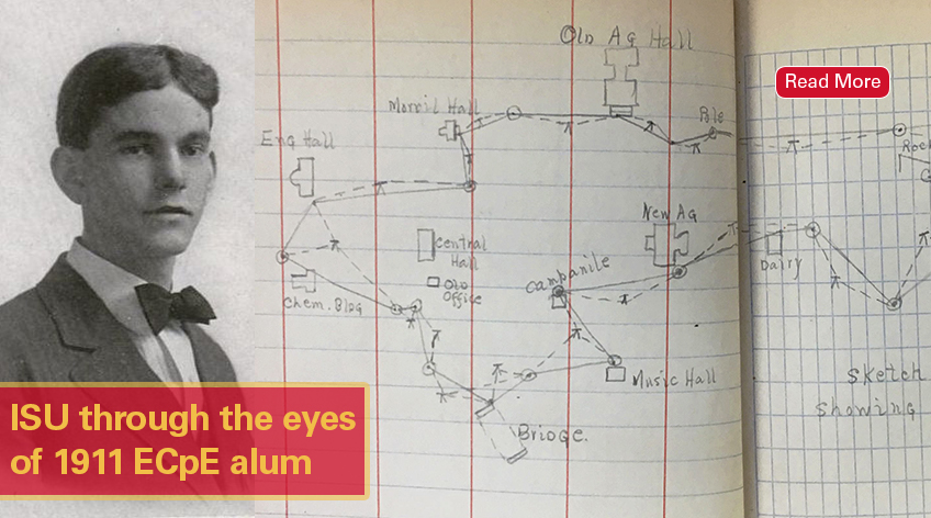 ISU through the eyes of 1911 ECpE alum