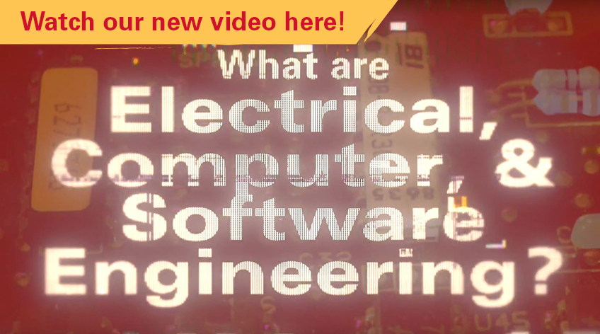 What are Electrical, Computer, & Software Engineering? Video