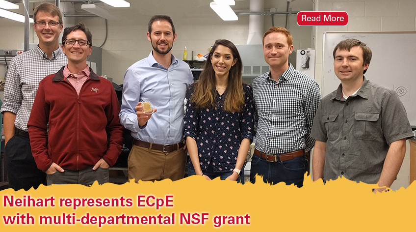 Neihart represents ECpE with multi-departmental NSF grant