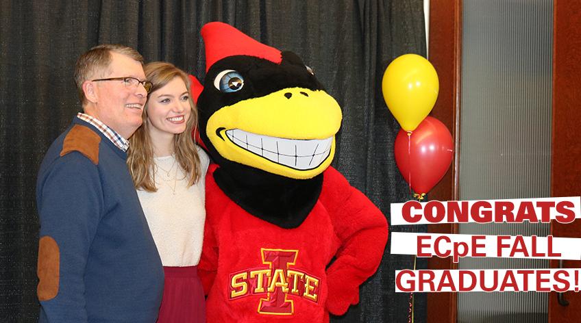 Congrats ECpE Fall Graduates