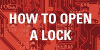 Open a lock